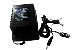 UNITEC AC-DC ADAPTOR 1000MA