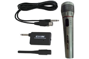 MICROPHONE WIRES & WIRELESS CE-638 METAL