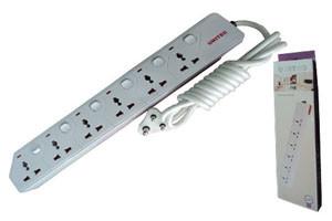 UNITEC UNIVERSAL POWER EXTENSION SOCKET SA-M756