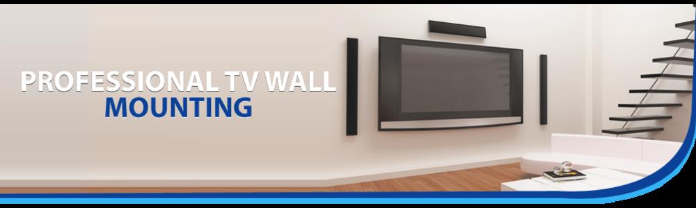 tv wall mount banner
