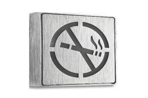 led no-smoking sign