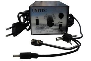 UNITEC AC DC ADAPTOR 2000MA