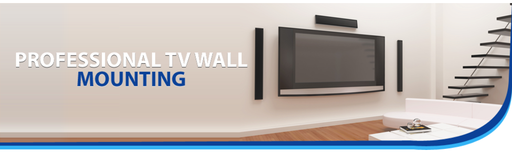 tv wall mount banner
