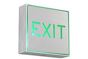 led exit sign