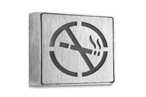 led no-smoking sign