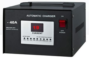 CAR BATTERY CHARGER 40AMP