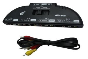 audio video selector switch