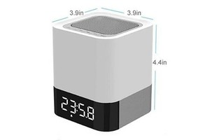 bluetooth speaker clock & lamp dy-28