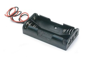 battery holder 2 cell