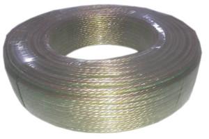 Speaker wire Gold & Green