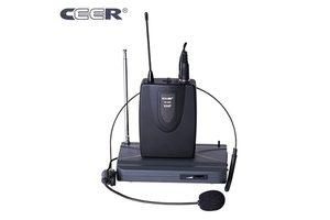 Ceer VHF Wireless 2 in 1 Microphone SC-900