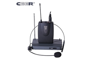 Ceer VHF Wireless 2 in 1 Microphone SC-900