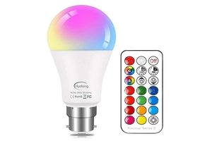 Colour Changing LED E27 Bulb with Remote