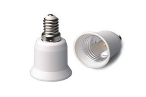 E14 to E27 Lamp Holder Bulb