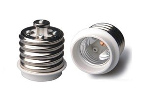 E40 to E27 Lamp Holder Bulb