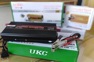 UKC AC TO DC INVERTER WITH CHARGER MODEL UPS-1300A