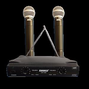 Wireless-Handheld-Dual-Microphone-Sri-Lanka-UHF-Singing-Mic-Karaoke-Shuke-Shure-UHF-555-Skyray-Electronics-&-Gadgets-Serendib-3